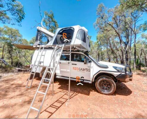 redsands campers virtual tour